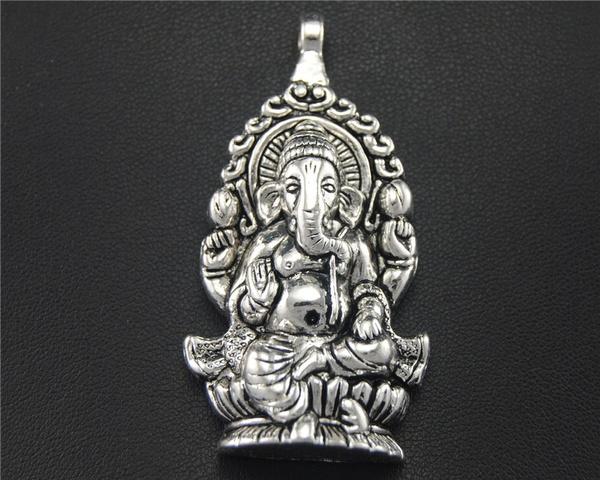 Antique, ganeshpendant, religiouscharm, Jewelry