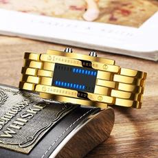 LED Watch, Blues, binarywatch, led