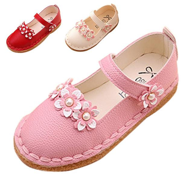 pink, Flowers, Princess, girlssandal