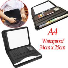 case, documentportfolio, PU Leather, a4zippedportfolio