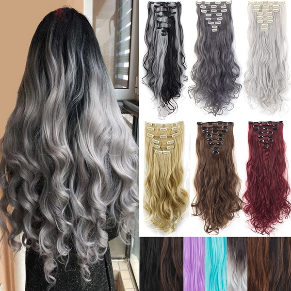 wig, syntheticclipinhairextension, Head, Hairpieces