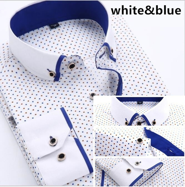 Turn-down Collar, Fashion, Cotton Shirt, Shirt