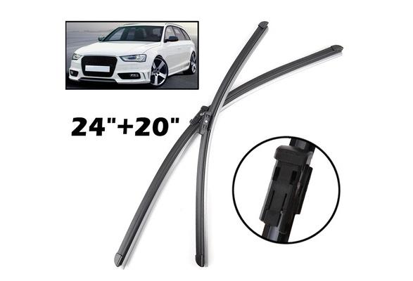 Xukey® 24''+20'' Windshield Windscreen Wiper Blades For Audi A4 B8 A4 Allroad 2008 2016 Front Window Wiper Blade 2015 2014 2013 2012 2011