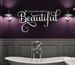 Beautiful, homedecorationwalldecal, Decor, Makeup