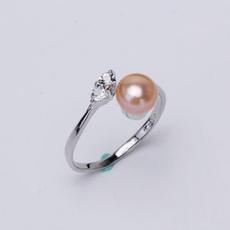 Fashion, wedding ring, crownring, Silver Ring