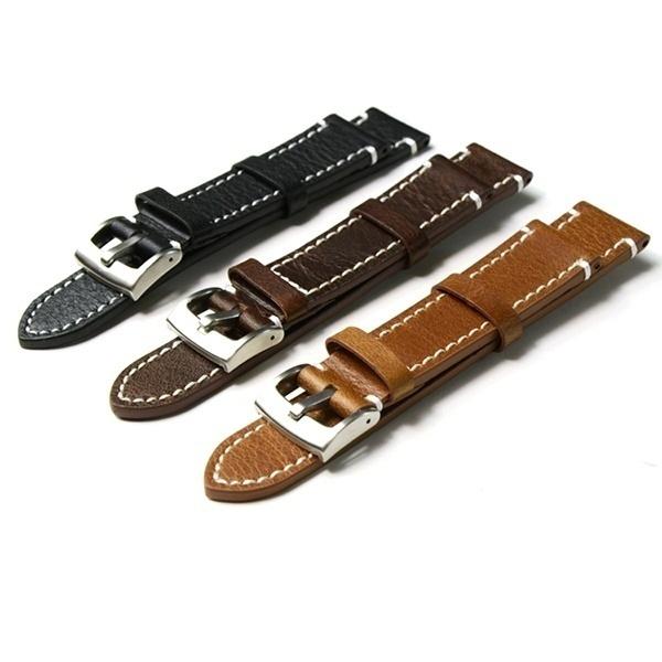 Steel, leather, Buckles, Stainless Steel