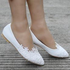 pointedtoeflat, Summer, Plus Size, Flats shoes