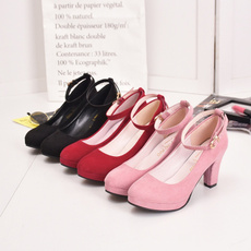 Fashion, partyshoe, Suede, Womens Shoes