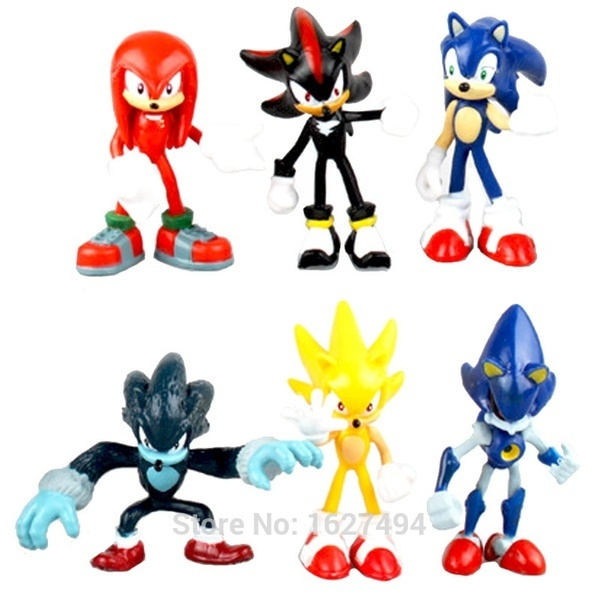 sonic, Toy, figure, doll