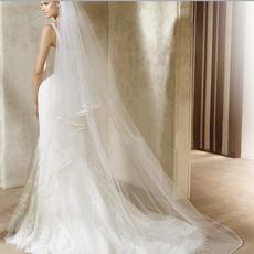 Ivory, 3metersbrideveil, longbridalveil, bridal accessories
