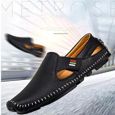 casual shoes, lazyshoe, leather, velcroshoe