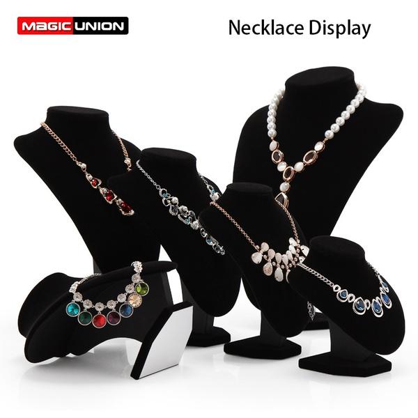 businessampindustrial, necklacedisplaystand, easel, velvet