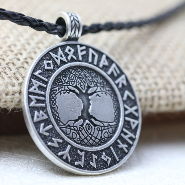 treenecklacepandent, runesnecklace, talismannecklace, nordicpendant