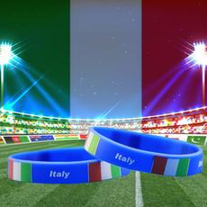 Crystal Bracelet, flagbracelet, Italy, romeflag