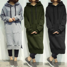 Plus Size, longtop, Autumn Dress, Long Sleeve