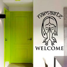 homedecorationwalldecal, Decor, Yoga, artwalldecal