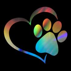 pawprint, Decals & Bumper Stickers, Pets, dog&cat