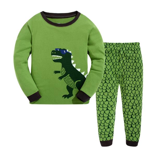 nightwear, kidssleepwear, cottonpajama, Dinosaur