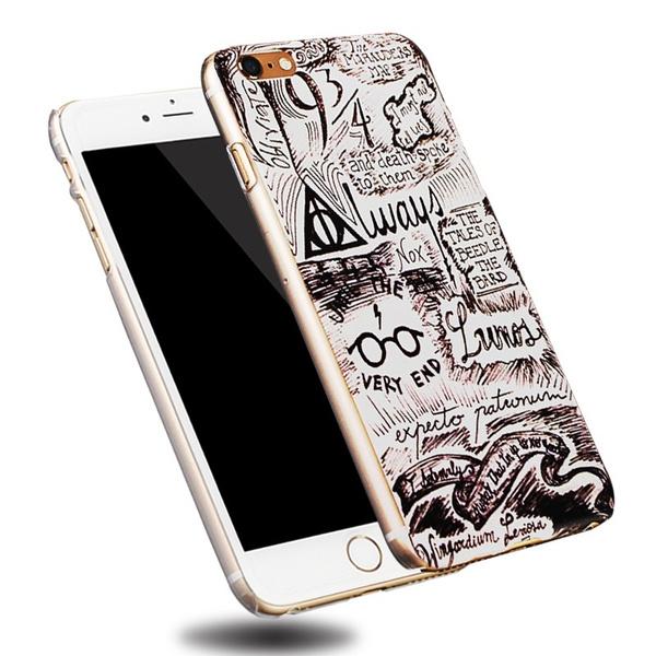 Harry Potter Coque Hard Transparent Plastic Phone Back Case Cover for Apple IPhone 6 6S Plus 3D Painting UV Design Capa Para   Wish