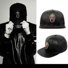 Head, leather cap, Men's Fashion, leather
