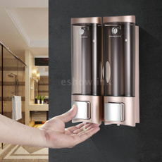 lotiondispenser, Bathroom, Bathroom Accessories, doubleshampoodispenser