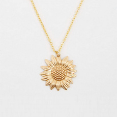 trendy necklace, goldplated, Chain Necklace, Fashion