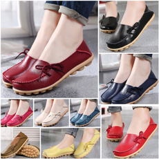 womens leather moccasins
