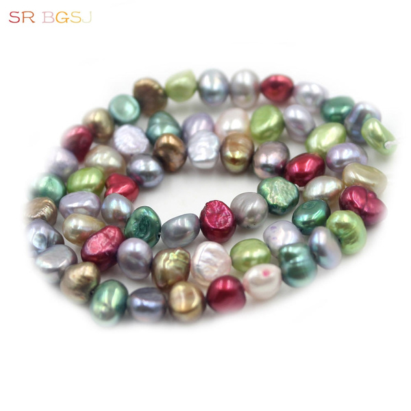 potatopearl, potatofreshwaterpearl, Jewelry, pearls