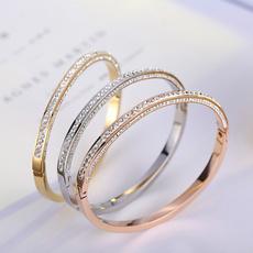 infinity bracelet, DIAMOND, gold, Classics