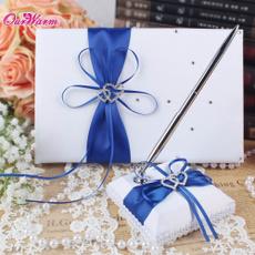 party, guest, weddingguestbookwithpenset, Pen