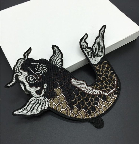 fish, Sewing, Accessory, Applique