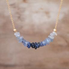 Blues, Chain Necklace, sapphirejewellery, Jewelry