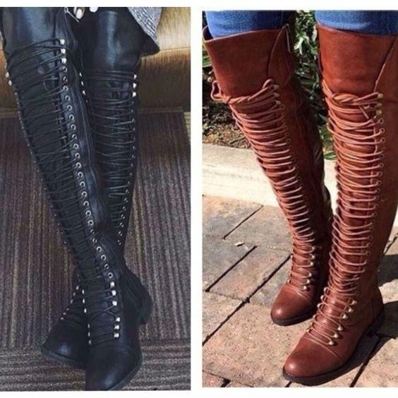 Boots Low Heel Suede Shoes