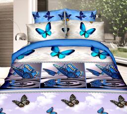 butterfly, queensizebeddingset, Sheets, bedclothe