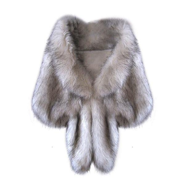 fauxfoxfur, stolewrap, Fashion, fur