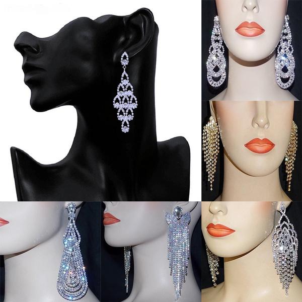 exquisite jewelry, Jewelry, Crystal Jewelry, Earring