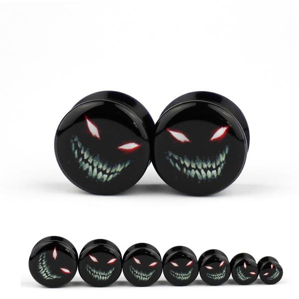 blackplug, plugsgauge, earplugstunnel, MONSTER