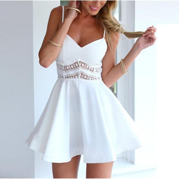 Mini, hollowoutdres, short dress, strapy