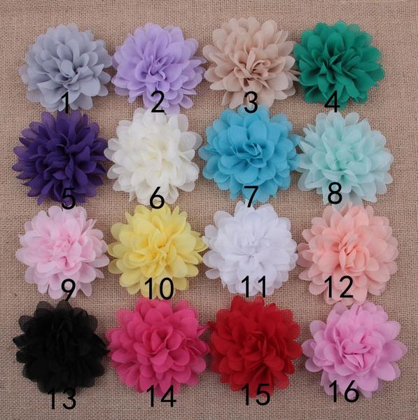 chiffonflower, Flowers, Fabric, chiffon
