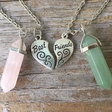 Heart, bestfriend, bff, Chain