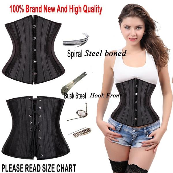 Steel, Goth, Plus Size, Waist