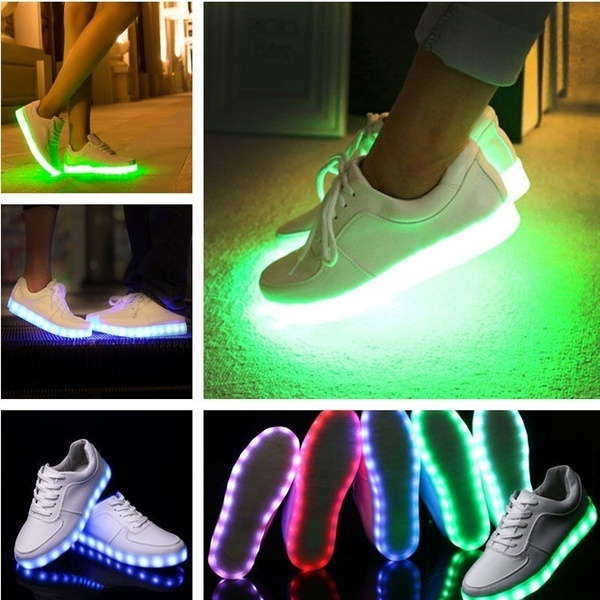 light up, fluorescentshoe, Sneakers, led