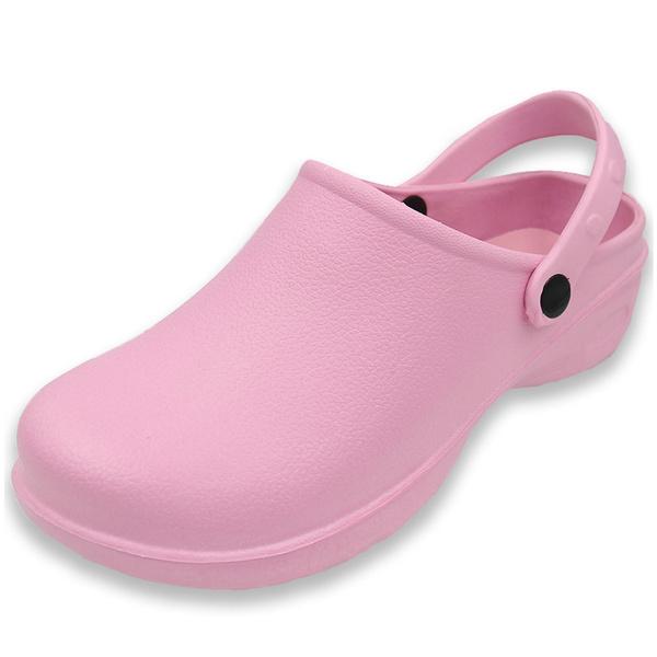Nurse Shoes Classic Slip On Rubber Mule
