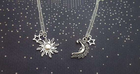 spacejewelry, celestial, sunandmoonjewelry, creativebirthdaygift