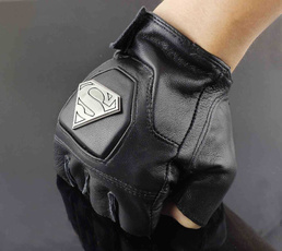 fingerlessglove, bikerglove, leather, punkglove