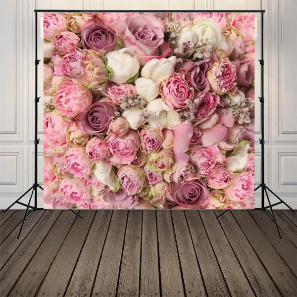 Flowers, Photo Studio, pinkbackdrop, newbornbabyphotoprop