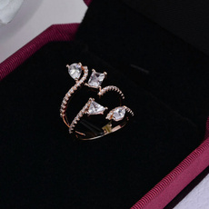 fashionwild, zirconring, DIAMOND, personailizedring
