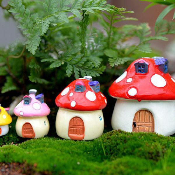 Plants, Gifts, Mushroom, house