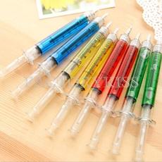 ballpoint pen, Funny, syringeshapedballpointpen, stickballpointpen