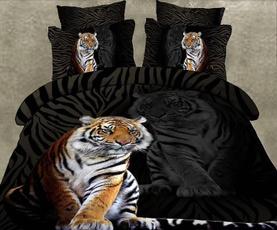 Design, Home textile, beddingsetkingsize, 3dtigerbeddingset